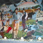 Great Lakes Visitor Center Mural 1